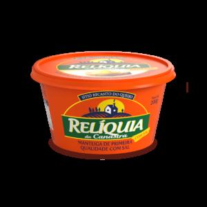 Manteiga Relíquia da Canastra Com Sal (200g) – Caixa com 12 un.