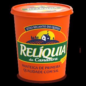Manteiga Relíquia da Canastra Com Sal (500g) – Caixa com 6 un.