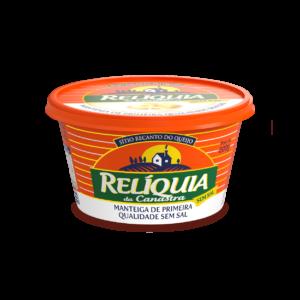 Manteiga Relíquia da Canastra Sem Sal (200g) – Caixa com 12 un.