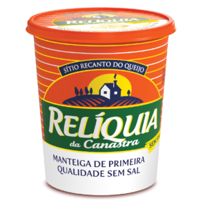 Manteiga Relíquia da Canastra Sem Sal (500g) – Caixa com 6 un.