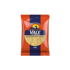 Queijo parmesão Vale da Canastra (Ralado fino)  50gr – Caixa com 20 un.