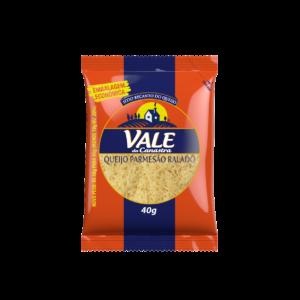 Queijo parmesão Vale da Canastra (Ralado fino) 40gr – Caixa com 25 un.